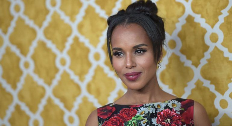 ¡Kerry Washington espera a su segundo hijo!