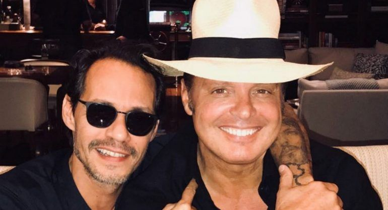 ¡Luis Miguel y Marc Anthony juntos!