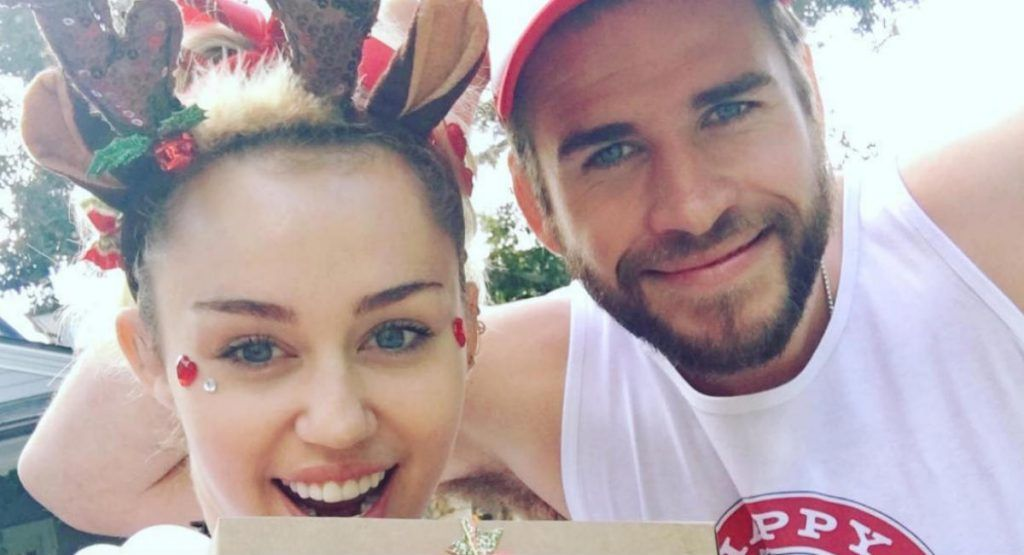 ¡Miley Cyrus y Liam Hemsworth juntos y felices!
