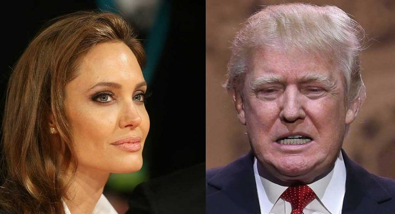 Angelina Jolie vs Donald Trump