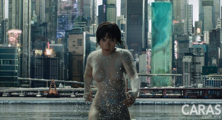 Así luce Scarlett Johansson en Ghost In The Shell