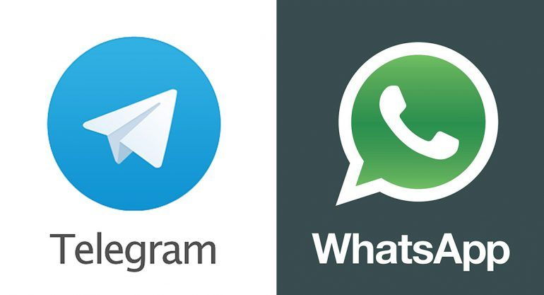 Cara a cara: Telegram vs. Whatsapp ¿Quién gana?