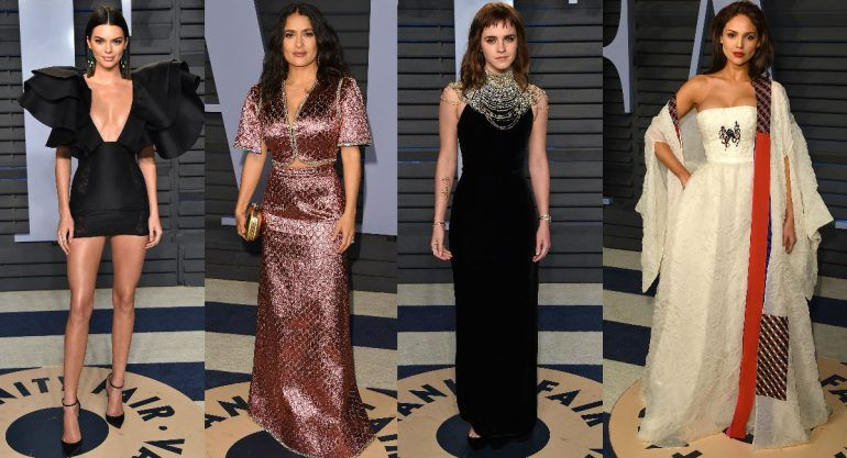 Celebs en el after party de los Oscar 2018