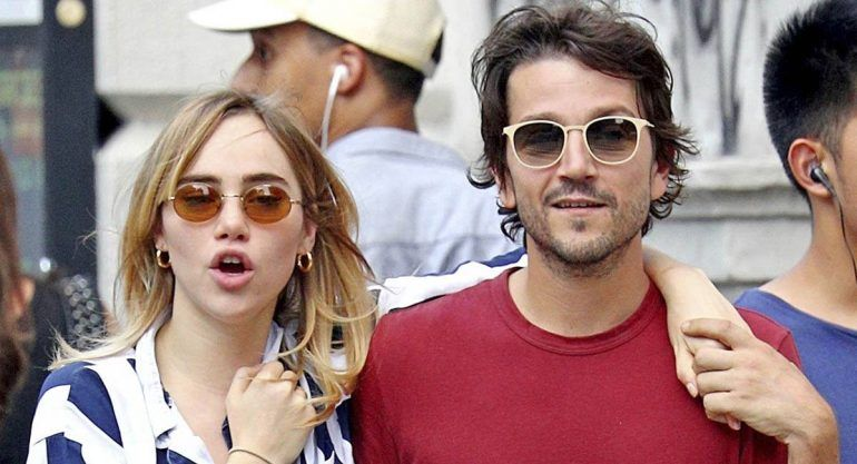 Diego Luna y Suki Waterhouse: love in New York