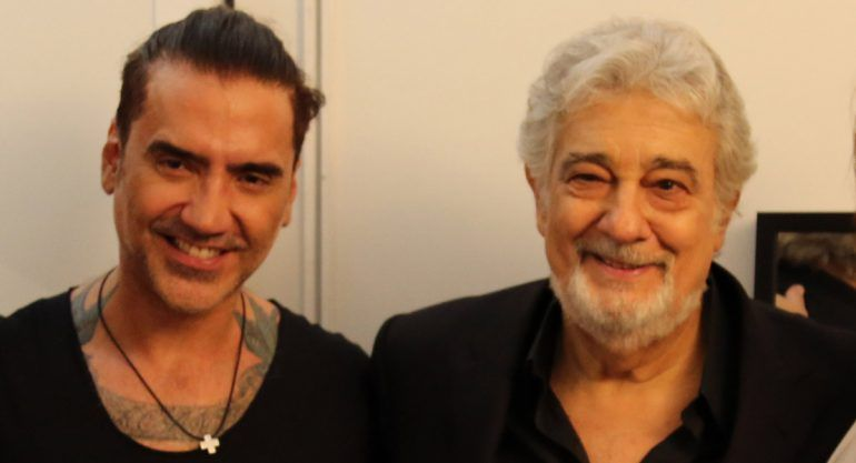 EXCLUSIVA: el backstage del concierto de Placido Domingo en Madrid