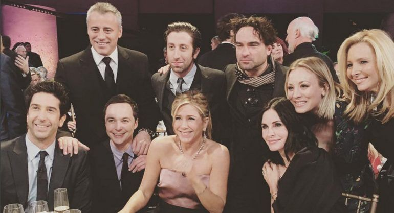 "El emotivo reencuentro de ""Friends"""