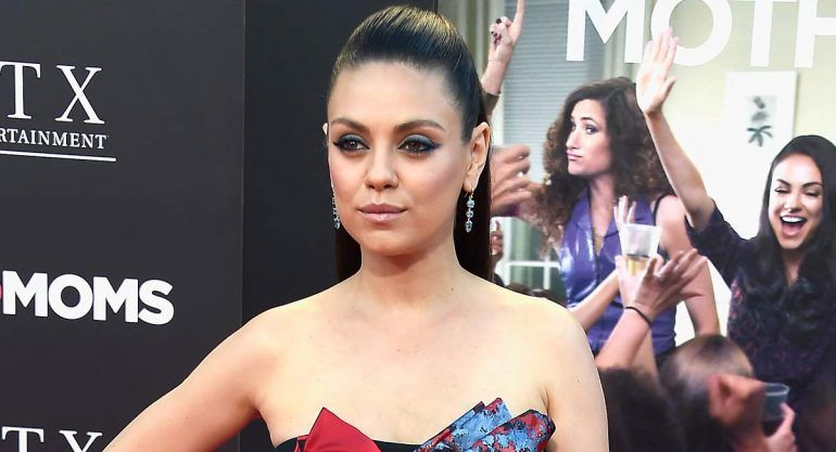 El look de Mila Kunis en la red carpet de ?Bad Moms?