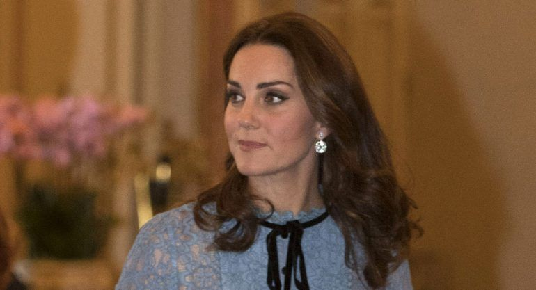 El primer look de Kate Middleton embarazada