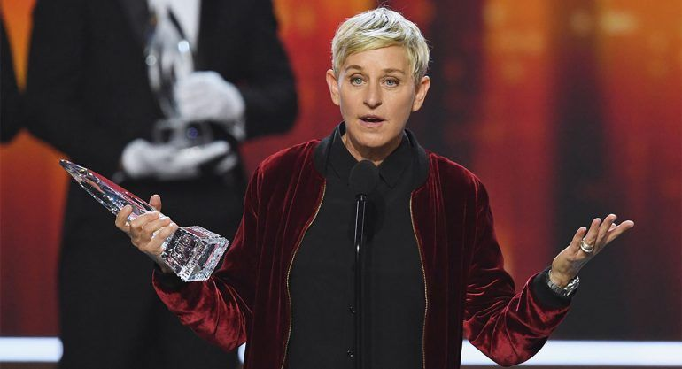 Ellen DeGeneres hace historia en los People's Choice Awards