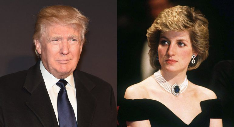 `Estaba loca´: Donald Trump sobre Lady Di