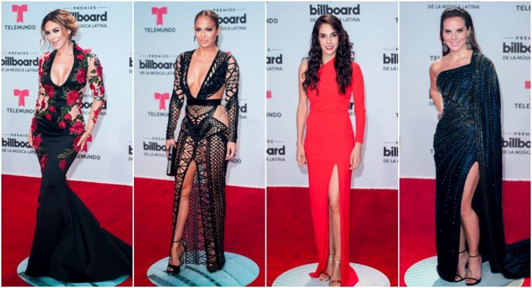 Las celebs que brillaron en la red carpet de los Latin Billboards 2017