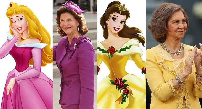 Lookalike: Princesas de Disney vs. Reinas de la vida real