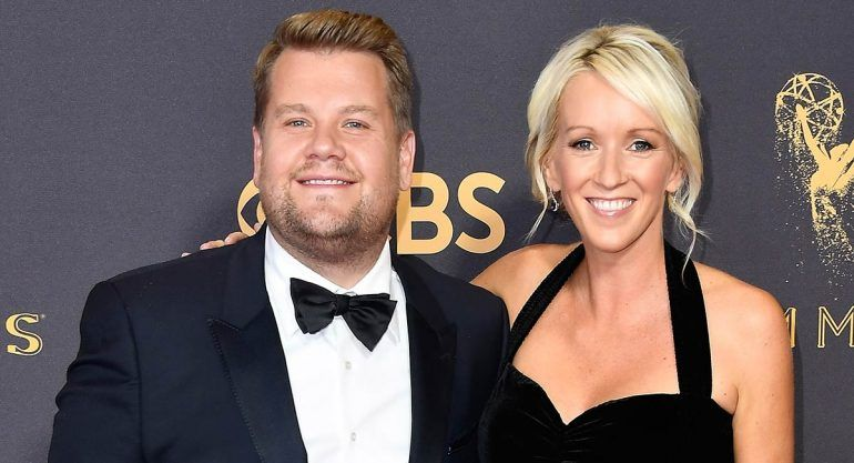 Nace tercera hija de James Corden y Julia Carey