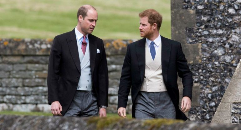 Príncipes William y Harry participan en documental sobre su madre