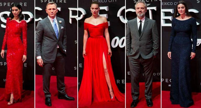 "Red Carpet de la premiere ""James Bond: Spectre"""