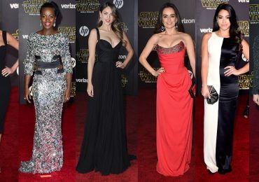 "Red carpet de ""Star Wars: el despertar de la fuerza"""