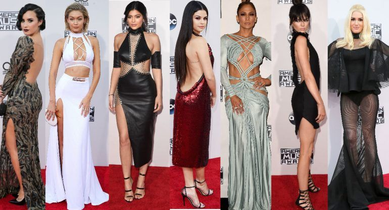 Red carpet de los American Music Awards 2015