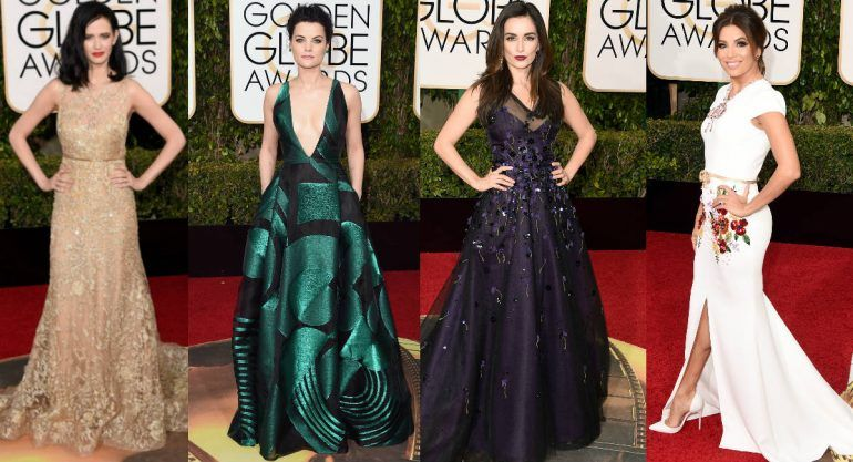 Red carpet de los Golden Globes 2016