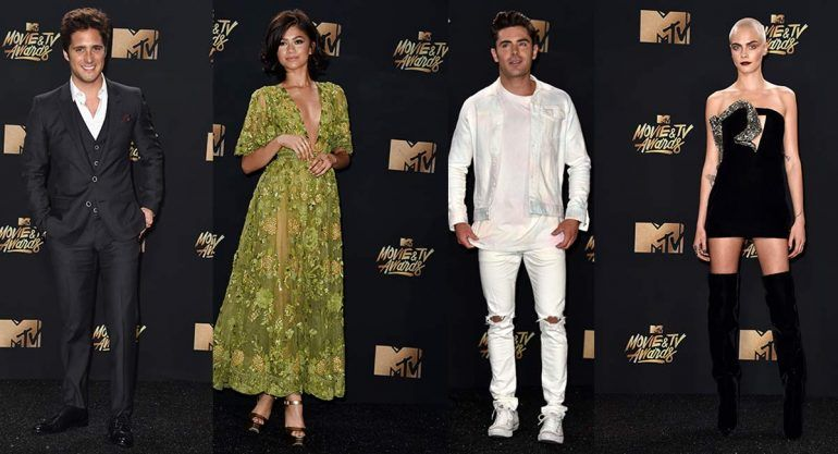 Red carpet de los MTV Movie and TV Awards 2017