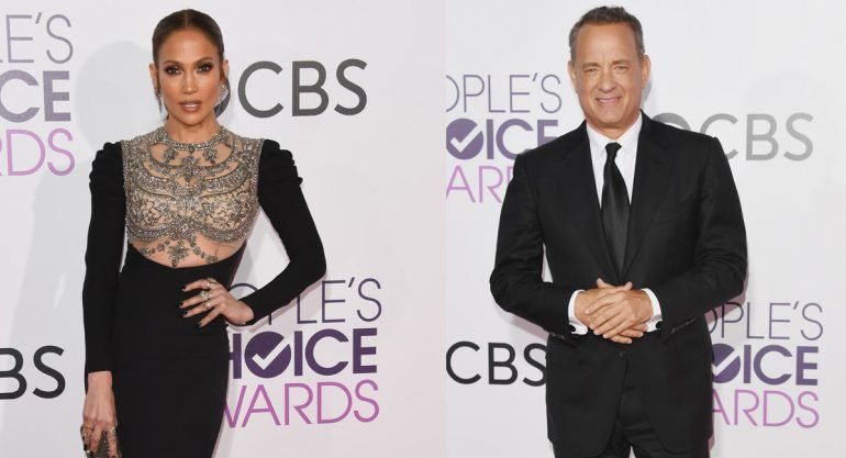 Red carpet de los People's Choice Awards 2017