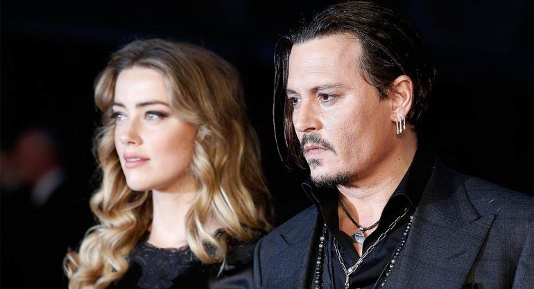 Revelan video de Johnny Depp enojado con Amber Heard