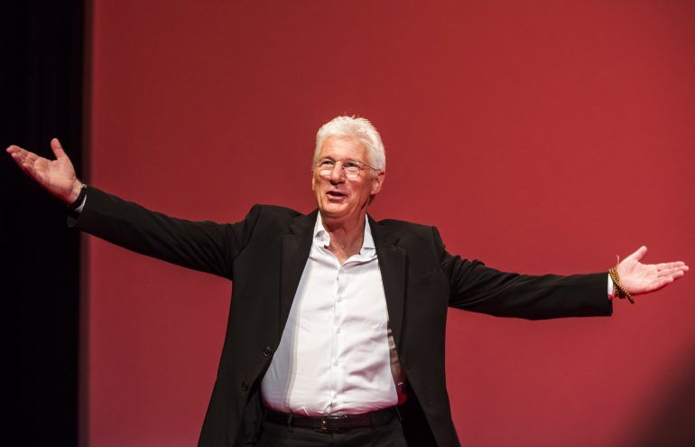 Richard Gere sorprende como homeless