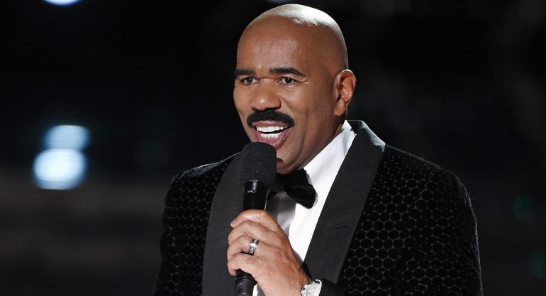 Steve Harvey se reencuentra con Miss Colombia