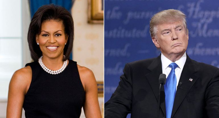 Trump tiene una conducta de predador sexual: Michelle Obama