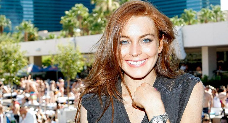 VIDEO: Lindsay Lohan es agredida por su novio