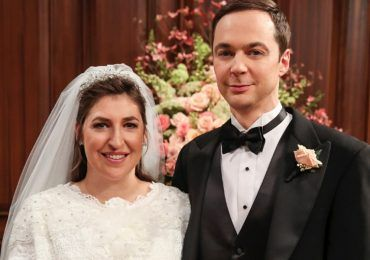 Amy y Sheldon, la boda